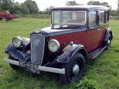 Lot 2 - 1935 Austin 16/6 Hertford Saloon