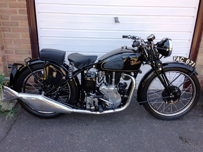 Lot 40-1946 Velocette MSS