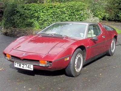 Lot 37 - 1973 Maserati Bora