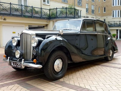 Lot 60 - 1951 Bentley MK VI H.J. Mulliner Saloon