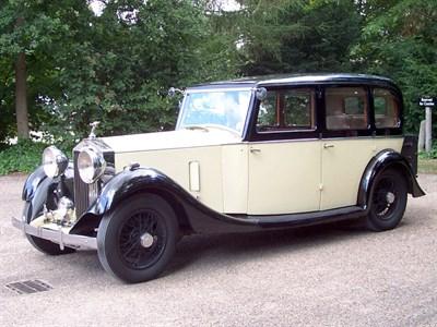Lot 82 - 1933 Rolls-Royce 20/25 Limousine