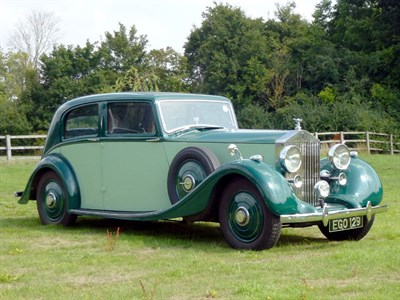 Lot 33 - 1937 Rolls-Royce 25/30 Touring Limousine