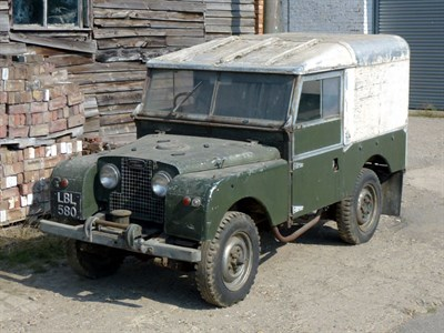 Lot 85 - 1955 Land Rover 86