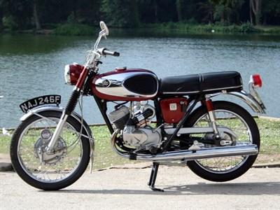 Lot 57-1968 Bridgestone 175 Dual Twin