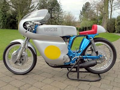 Lot 58-1968 Ducati 450 SCR Replica