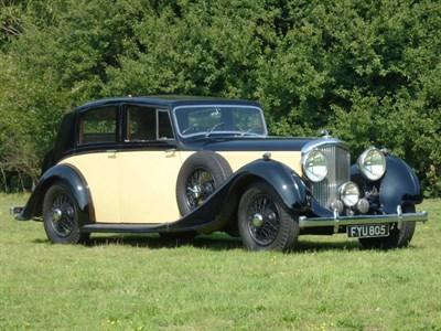 Lot 43 - 1939 Bentley 4.25 Litre Touring Saloon
