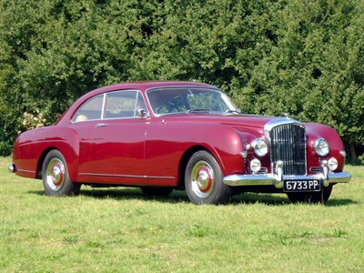 Lot 88-1956 Bentley S1 Continental Fastback