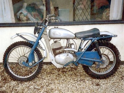 Lot 64-1960 Greeves Hawkstone