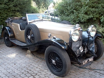Lot 23-1934 Lagonda M45 T7 Tourer