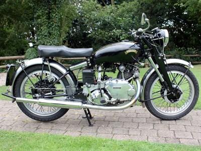 Lot 65-1950 Vincent Comet Series C