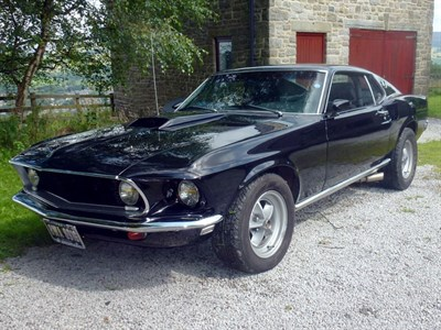 Lot 23 - 1969 Ford Mustang Mach 1