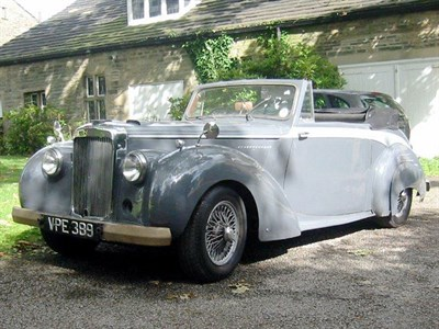 Lot 20-1954 Alvis TC21/100 Drophead Coupe