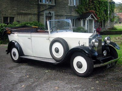 Lot 21-1935 Rolls-Royce 20/25 Tourer