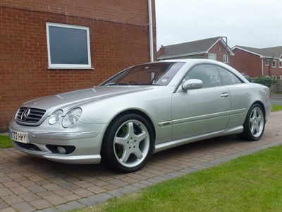 Lot 12 - 2001 Mercedes-Benz CL 55 AMG F1 Limited Edition