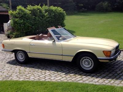 Lot 4 - 1976 Mercedes-Benz 350 SL