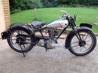 Lot 34-1930 BSA S30 Light