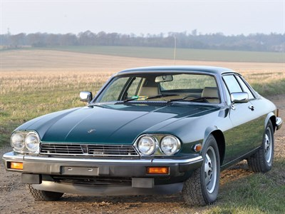 Lot 92-1985 Jaguar XJ-S 5.3