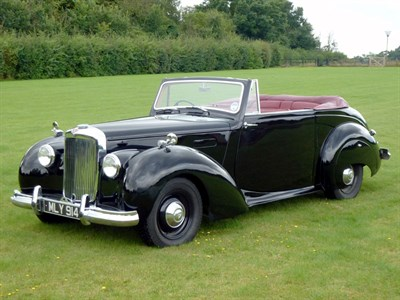 Lot 44-1951 Alvis TA21 Tickford Drophead Coupe