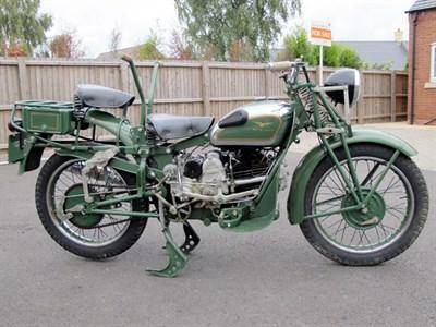 Lot 45-1945 Moto Guzzi Superalce