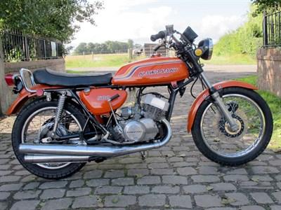 Lot 35-1971 Kawasaki H1B