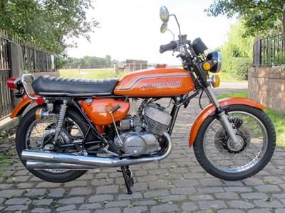 Lot 50-1972 Kawasaki H1