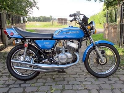 Lot 43-1972 Kawasaki H2