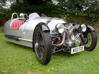 Lot 67-2012 Morgan Three Wheeler
