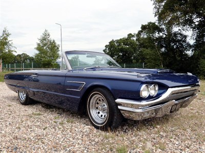 Lot 66-1965 Ford Thunderbird Convertible