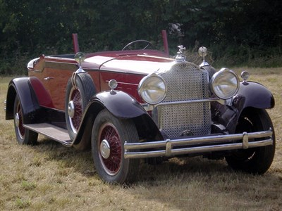 Lot 35-1930 Packard 740 Super Eight Convertible