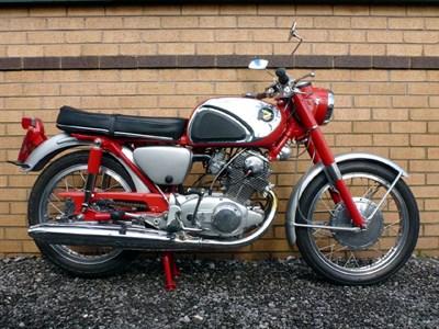 Lot 70-1964 Honda CB77