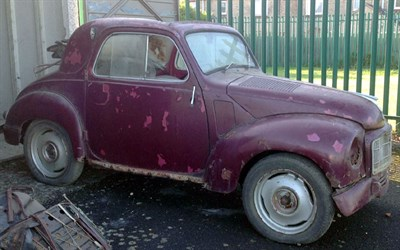 Lot 91 - 1955 Fiat 500 C Topolino