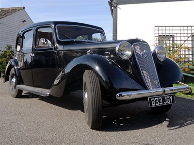 Lot 93-1937 Austin 12/6 Goodwood Saloon