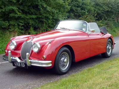 Lot 64-1957 Jaguar XK150 3.4 Litre Drophead Coupe