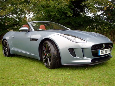 Lot 78-2013 Jaguar F-Type S V6