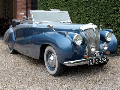 Lot 36-1951 Daimler DB18 Drophead Coupe