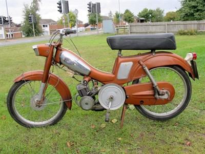 Lot 25-1977 Mobylette 49cc