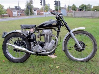 Lot 48-1950 AJS 16C Trials