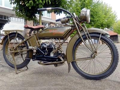 Lot 61-1921 Harley Davidson Model W