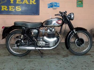 Lot 33-1960 BSA A10/A7