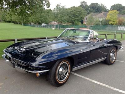 Lot 76 - 1963 Chevrolet Corvette Sting Ray Convertible