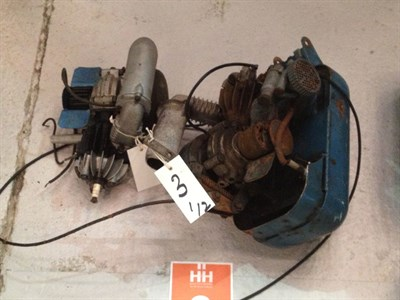 Lot 3-Mini-Motor Assembly