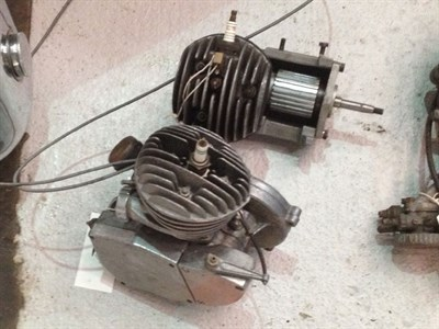 Lot 11 - Cycle Motor Engines