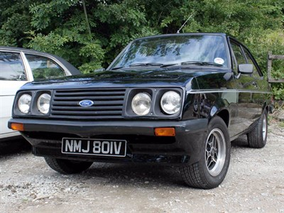 Lot 21 - 1980 Ford Escort RS 2000