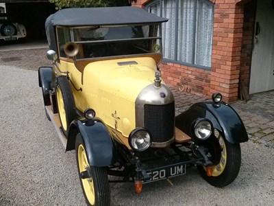 Lot 54-1926 Morris Cowley 'Bullnose' Tourer