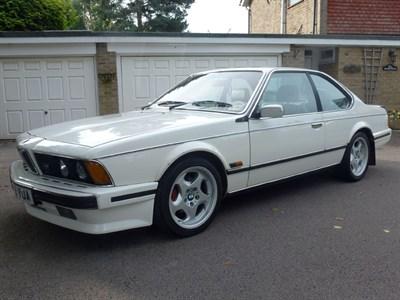 Lot 27 - 1988 BMW M635 CSi