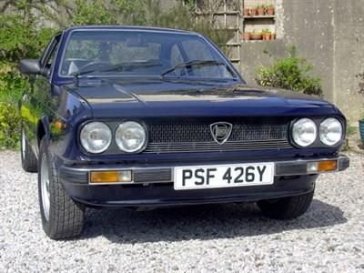 Lot 38 - 1982 Lancia Beta 2000