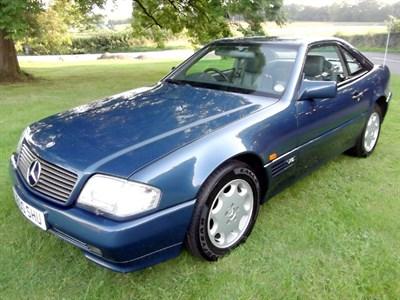 Lot 55 - 1994 Mercedes-Benz SL 600