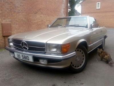 Lot 29 - 1987 Mercedes-Benz 420 SL