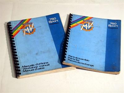 Lot 22-MV Agusta '750 Sport America' Literature