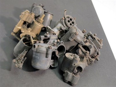 Lot 6-A Selection of Vintage Carburettors